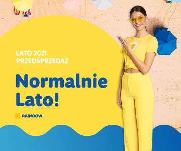 Lato 2021 z Rainbow Tours
